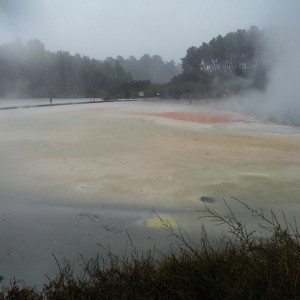 Champagne Pool - Wai-O-Tapu thermal wonderland