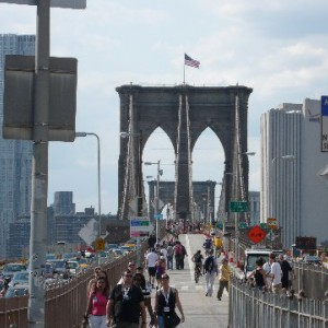 Brooklyn Bridge visto desde Brooklyn
