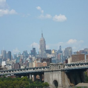 Empire State desde Brooklyn Bridge