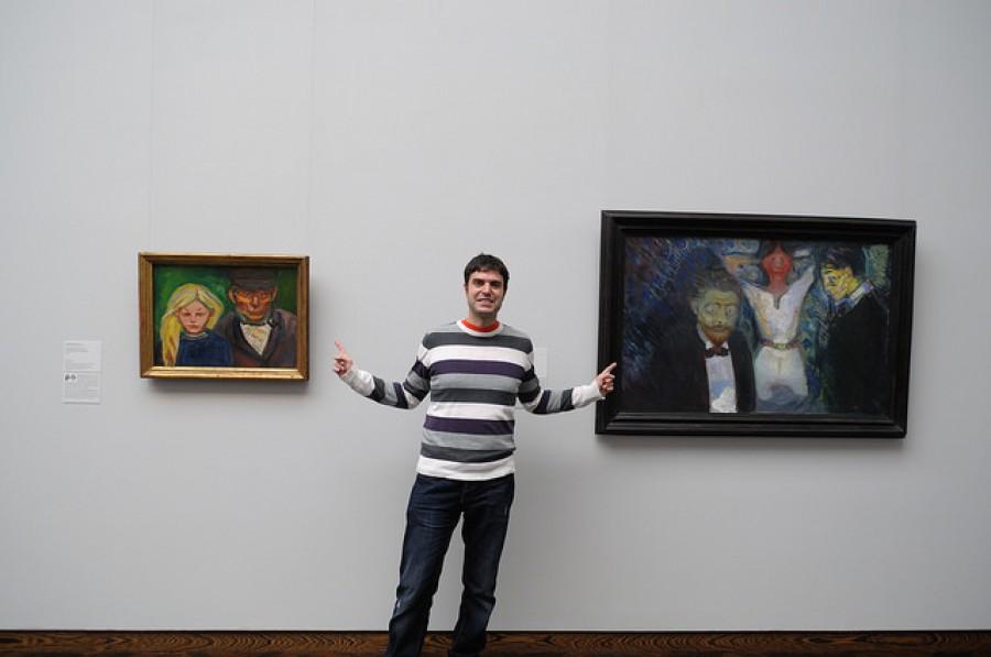 Cuadros de Edvar Munch