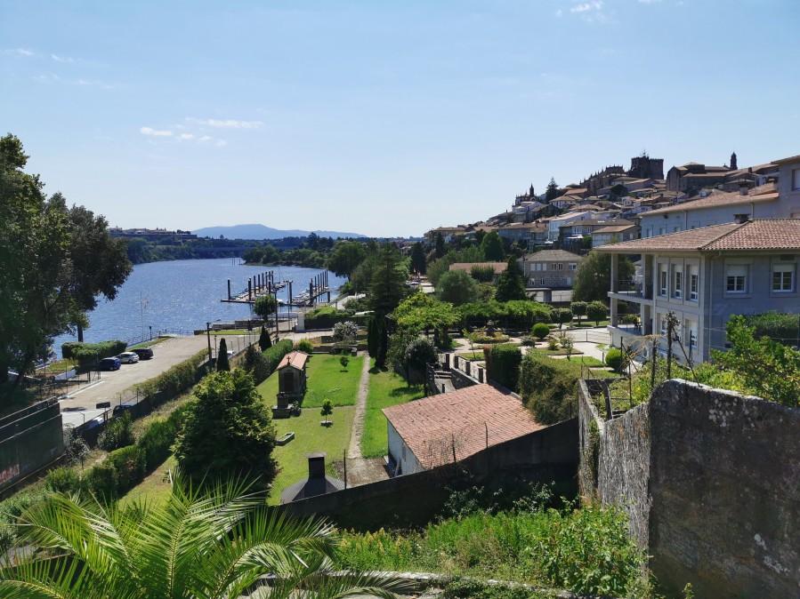 Vistas de Tui desde el Monasterio de Santo Domingo