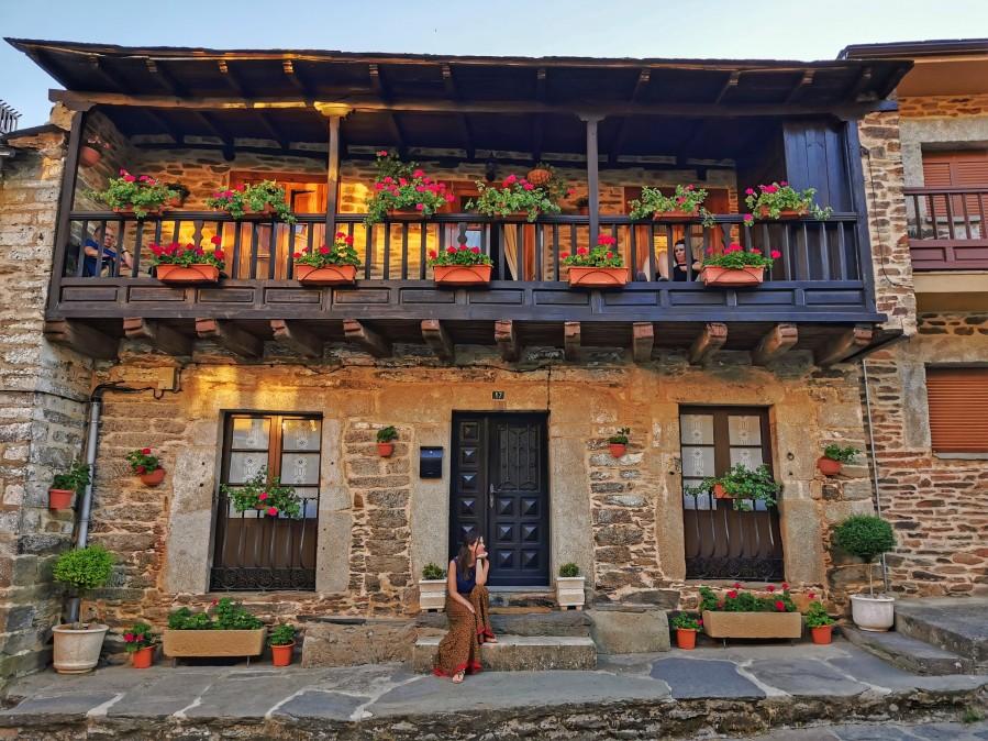 Casa típica de Puebla de Sanabria