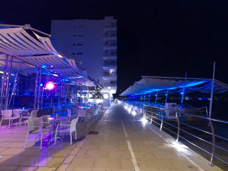 Así lucía Café del Mar